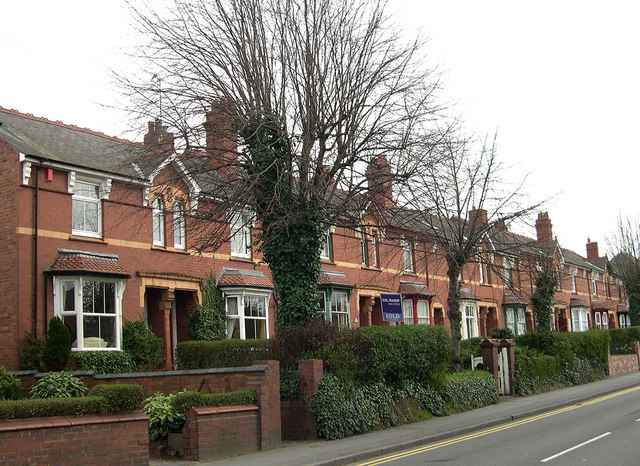 Terraced Houses, Kingswinford High Street, Staffordshire