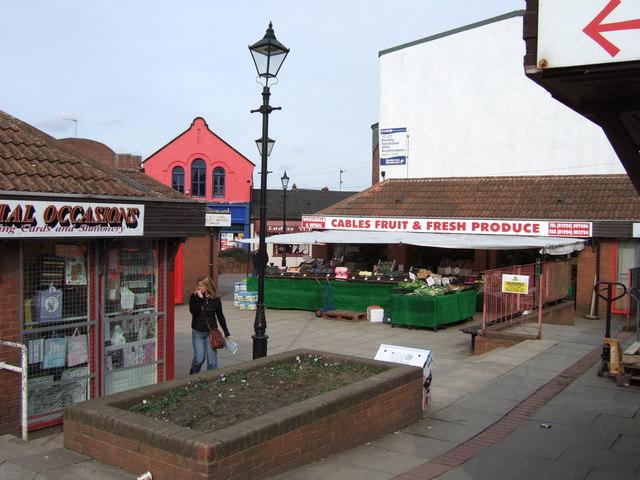 Market Shops, Normanton