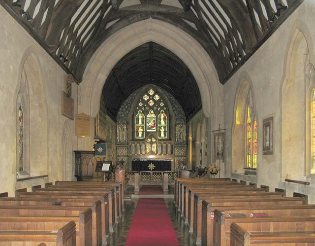 St Michael, Waterford, Herts - East end