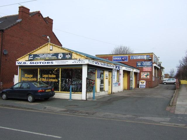 WB Garage, Normanton