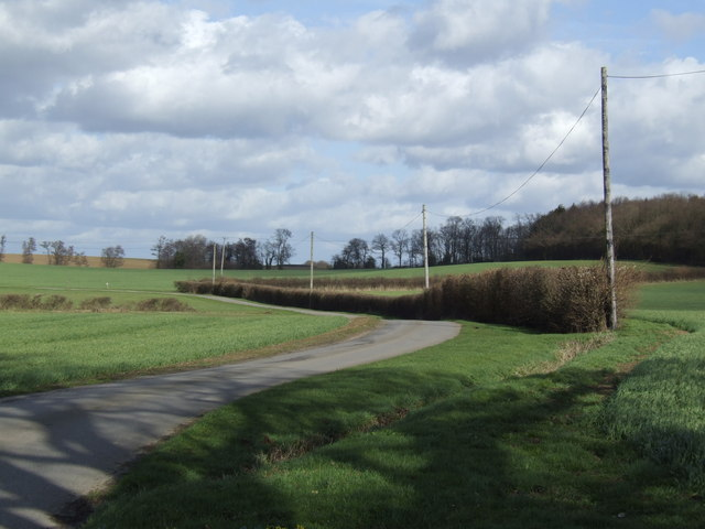Farm road and bridleway