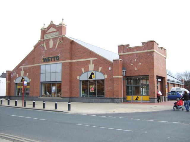 Netto Supermarket, Normanton.