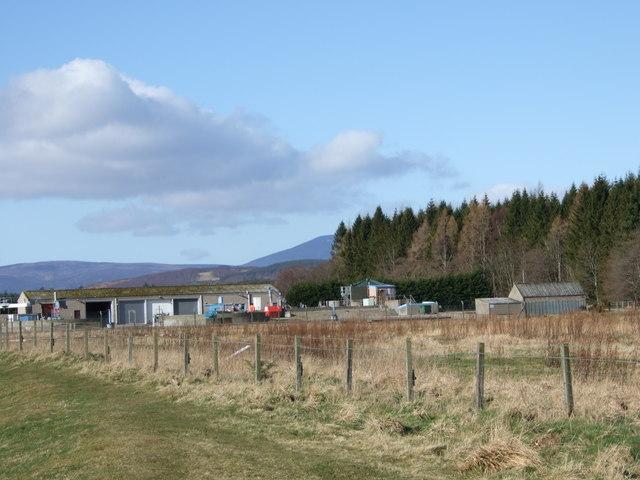 Aboyne sewage treatment plant