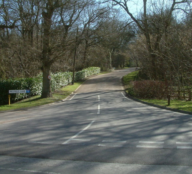 Millfield Lane, Lower Kingswood