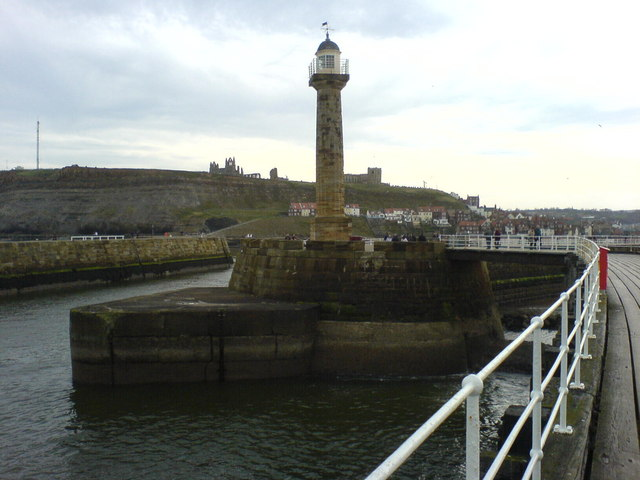 West Pier Lighthouse, Whitby.
