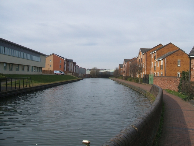 Canalside Development in Tipton