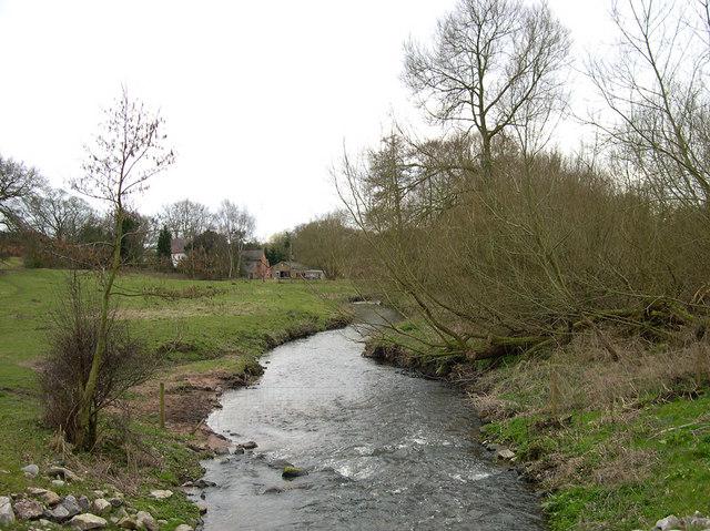 Smestow Brook, near Trysull, Staffordshire
