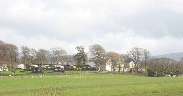Plas Coed Helen Mansion and Holiday Home Park