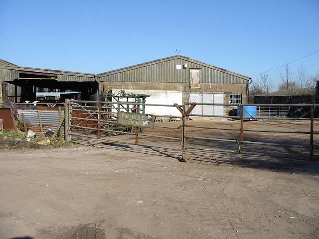 Farm buildings at Chalksole Farm