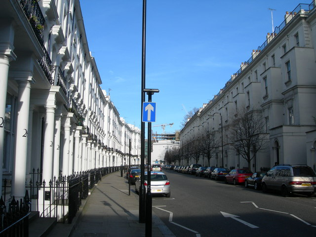 Gloucester Terrace and Porchester Square, W2