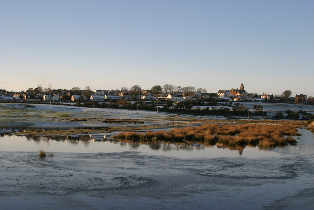 Wigtown from Nature reserve