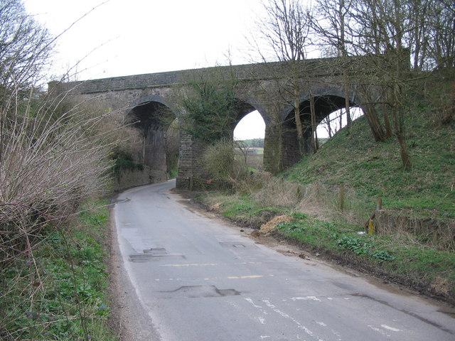 Wellow viaduct (Bridge No. 22)