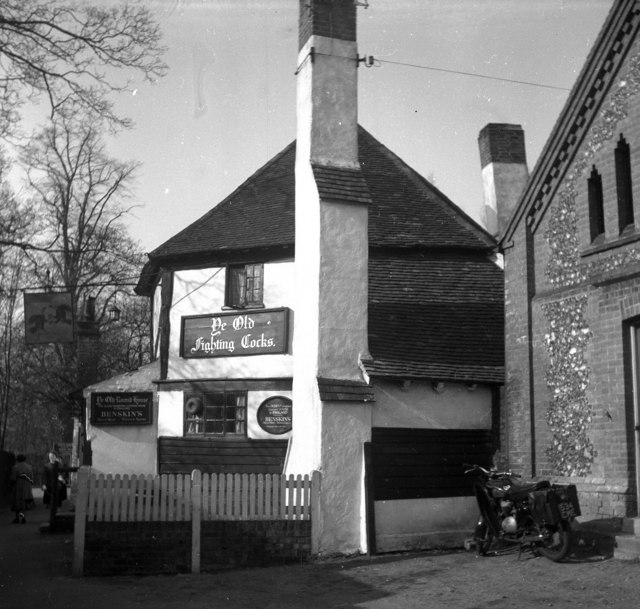 The 'Fighting Cocks', St Albans, Hertfordshire