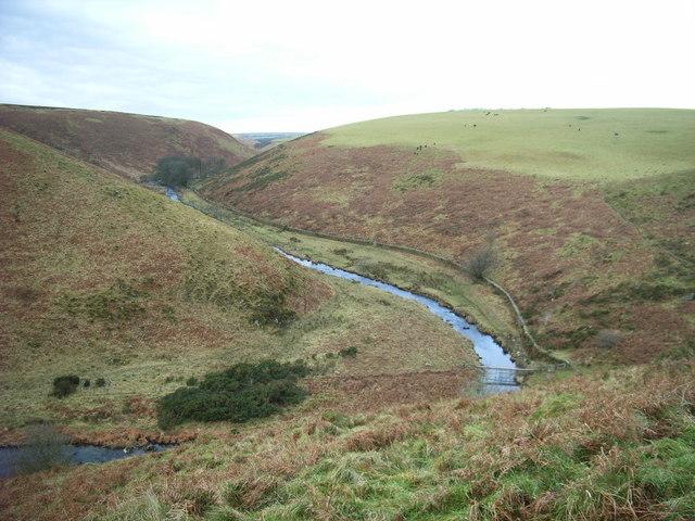 Great Woolcombe & Winstitchen panorama