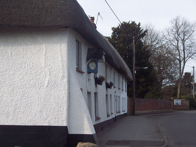 The clock is correct too - cottage in Netheravon