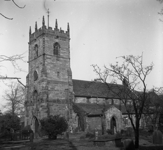 Prestbury Church, Cheshire