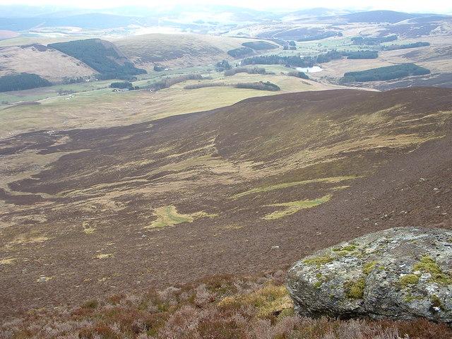 SE ridge of Mount Blair