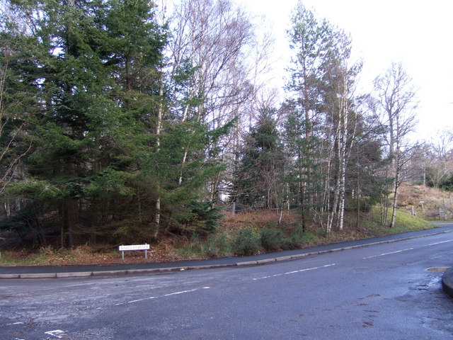Entrance to Barclay Park