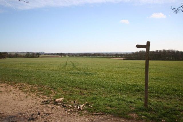 Towards East Kirkby