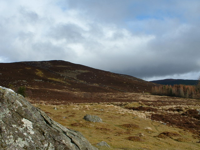 SW of Mount Blair