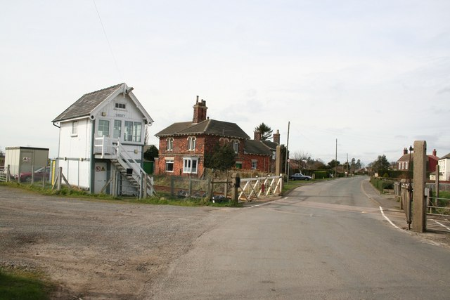 Sibsey level crossing