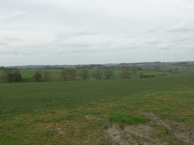 View across Open Country towards Arthingworth.