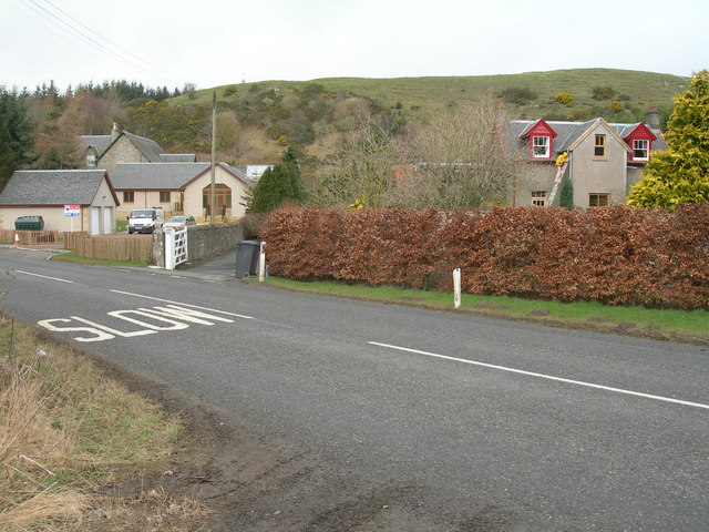 Houses near Kirkton & A6088
