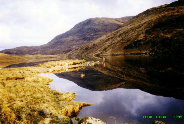Trout fishing, Loch Uisge
