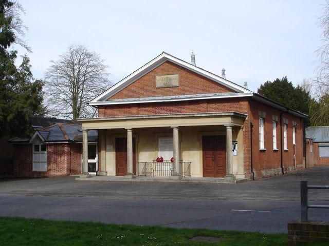 Memorial Hall, Downton
