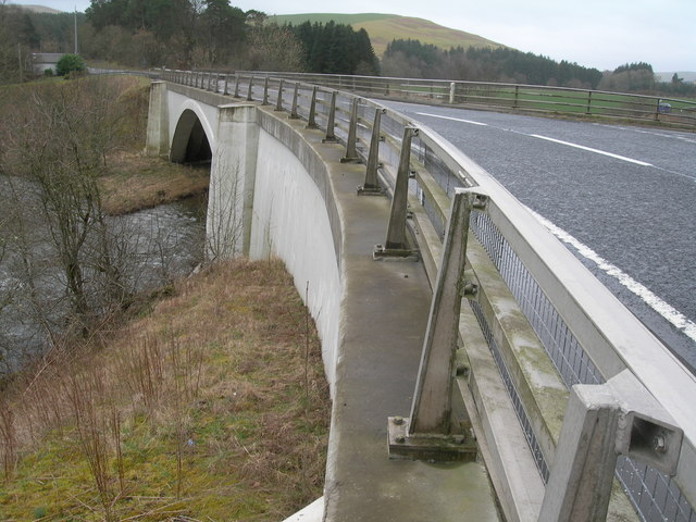 Bridge over River Teviot on A7