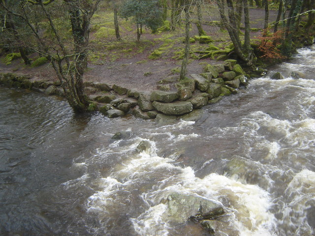 Confluence of Rivers Plym and Meavy, Shaugh