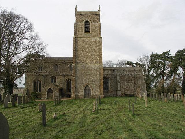 St. Peter & St. Paul Church at Harrington.