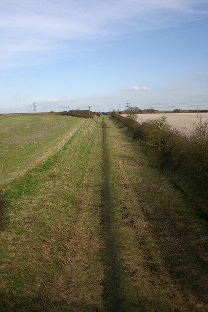 Disused railway near Burwell