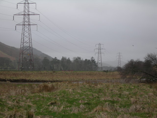 Pylons off A7
