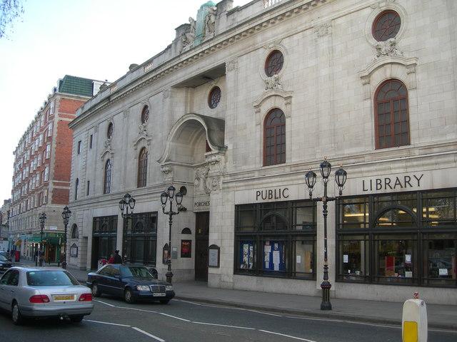 Paddington Library, Porchester Hall