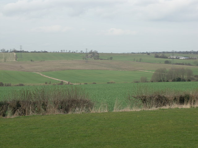 View from The Tollemache Arms Car Park.