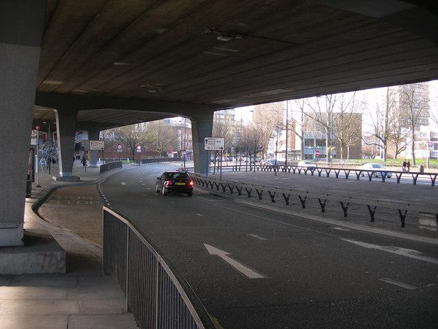 Harrow Road, W2, under Westway