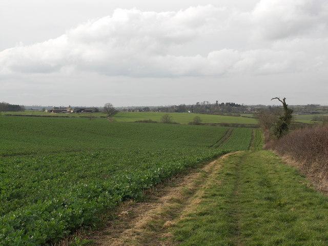 The Bridleway to Arthingworth.