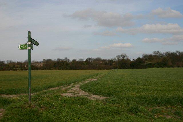 Footpath to Burwell