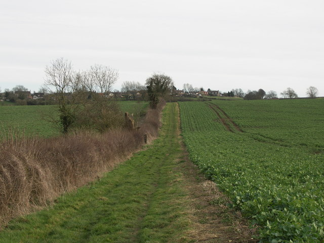 The Bridleway to Harrington.