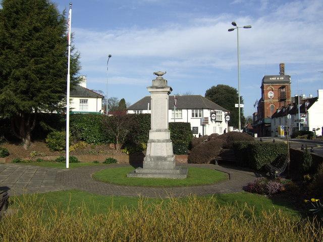 War memorial, Horndean
