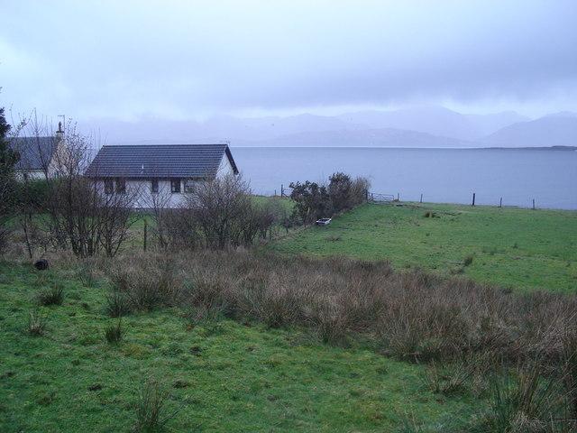 Looking west across Loch Linnhe from Keil
