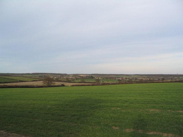 View towards Brigstock
