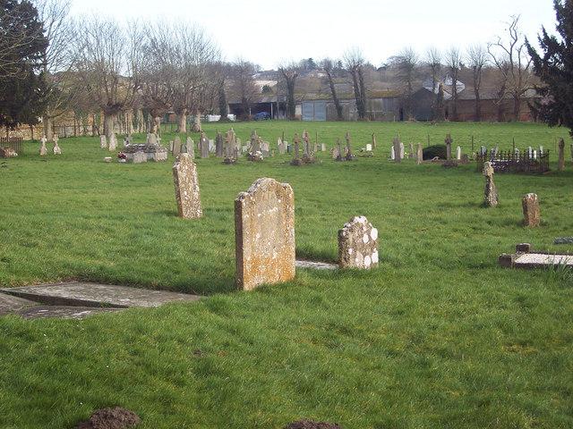 Churchyard at All Saints Church, Fittleton