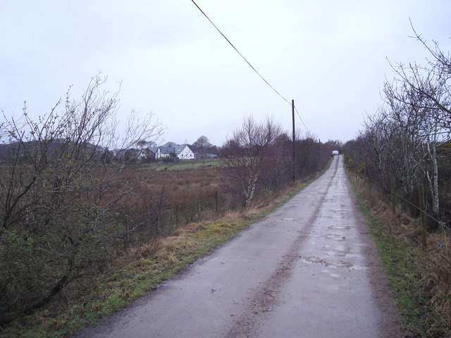 The track to Kinloch