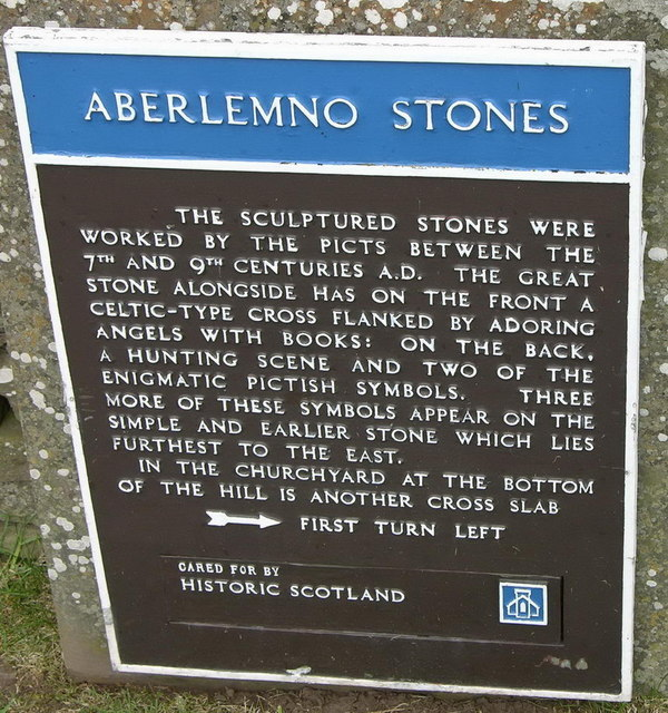 Aberlemno stones; the official version