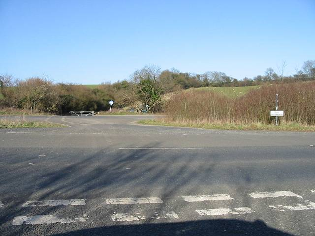 Crossing point of the Lydden Hill dual carriageway
