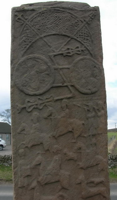 The Great Aberlemno stone, obverse