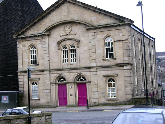 Old Baptist church - Ramsbottom