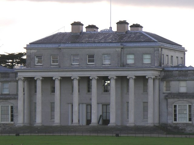 Main Entrance to Shugborough Hall